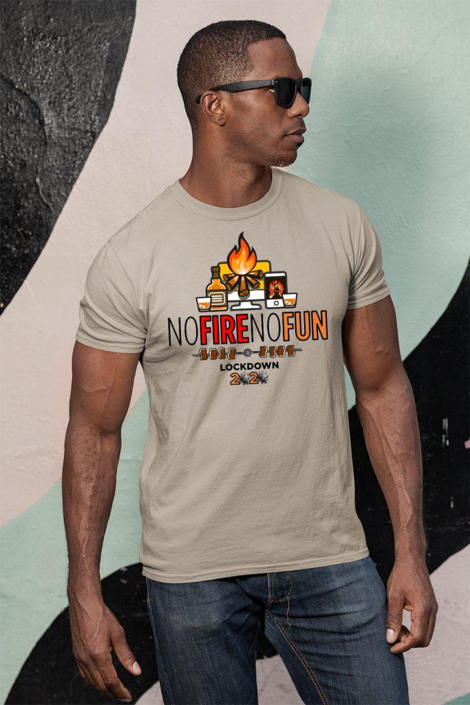 No Fire No Fun - Voom Custom Apparel